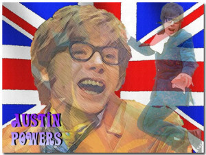 Austin Powers International Man Of Mystery Theme With 10 Backgrounds