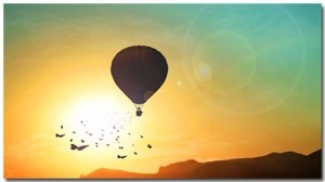 Ballooning Theme With 10 Backgrounds