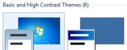 """What Are """"Basic Mode"""" Windows 7 Themes And How Would I Use Them?"""