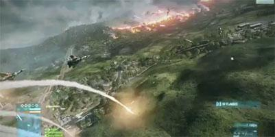 Battlefield 3 Gameplay Video Shows 64-Player Map Caspian Border and Jets