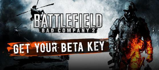Battlefield Bad Company 2 Beta Key Giveaway