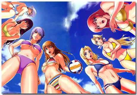 Fanmade Themepack With 10 Beach Volleyball Backgrounds From DeviantArt