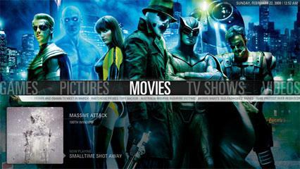 Beautiful Media Player Software With Most Amazing Skins And Themes: XBMC