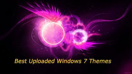 13 Best Uploaded Windows 7 Themes