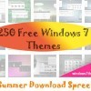 250 Best Free Windows 7 Themes
