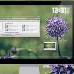 10 Windows Aero Themes With Plant Wallpaper, Glass Themes For 7, XP, Vista