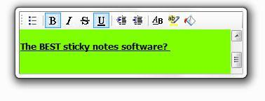 Best Free Sticky Notes Software?