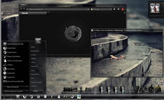8 Black, Grey Windows 7 Themes For Your PC With Excellent Shells