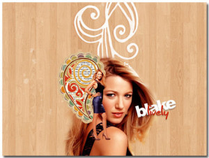Blake Lively Wallpaper Theme With 10 Backgrounds