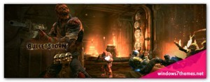 High-Quality Bulletstorm Dual-Monitor Wallpaper