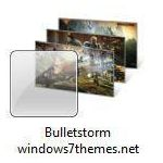 bulletstorm windows 7 theme jpg