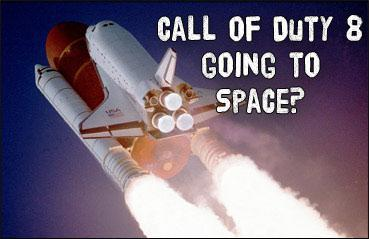 Call of Duty 8: Space Warfare Coming?