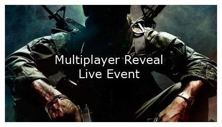 Call of Duty Black Ops Multiplayer Reveal Event: Live Stream (Links)
