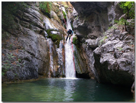 Canyoning Theme With 10 Backgrounds
