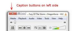 Move Caption Buttons To The Left Side (For Lefties)