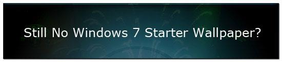 How to change your desktop background in Windows 7 Starter