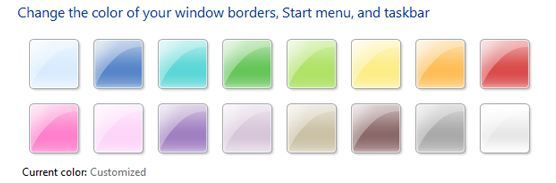 How To Change Taskbar Color in Windows 7