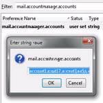 How to change the mail account order in Thunderbird