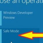 Start Windows 8 Safe Mode For Troubleshooting