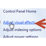 click adjust visual effects preview png