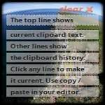 Clipboard History Gadget: Show Clipboard Text Right On Your Desktop