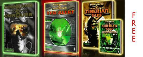 Command & Conquer 1-3 for free!