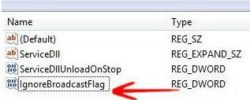 Configuring The DHCP Windows Broadcast Flag