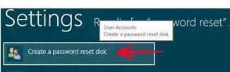 Create a password recovery disk in Windows 8 to get access when you lose your password