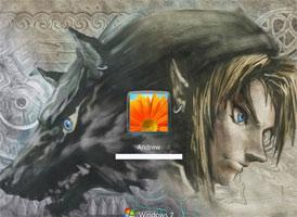 Nice Custom Video Game Themes, Icons, Logon Screens for Windows 7