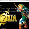 Dark The Legend Of Zelda Google Chrome Theme Small 100x100 Jpg
