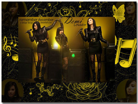 Demi Lovato Wallpaper Theme With 10 Backgrounds