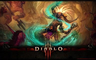 1920×1080 Windows 7 Theme With Many Diablo 3 Backgrounds And Artworks