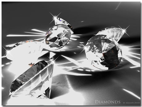 Diamond Wallpaper Theme With 10 Backgrounds