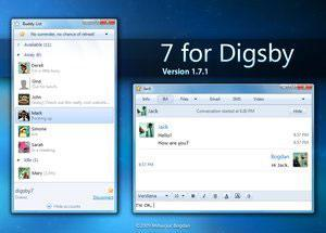 Digsby Windows 7 Theme