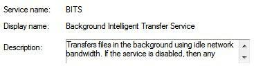 2 Ways To Disable Background Intelligent Transfer Service in Windows 7 or 8 (BITS)