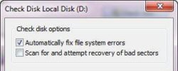 How To Fix Disk Volume Errors And Corrupt Files in Windows 7