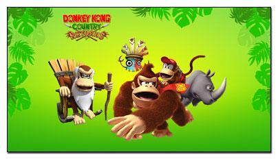 Donkey Kong Country Returns Windows 7 Theme