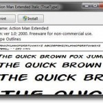 download and install fonts jpg