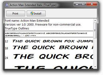 How to download and install fonts in Windows 7