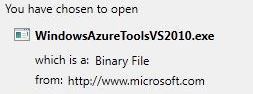Where To Download Microsoft Azure Tools & SDK For Windows 7?