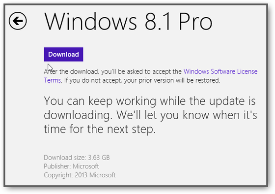 Windows 8.1 Not In Store: Why Does The Windows 8 Store Not Show The Update Tile?