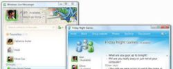 New Windows Live Messenger With HD Chat, Themes & Social Features
