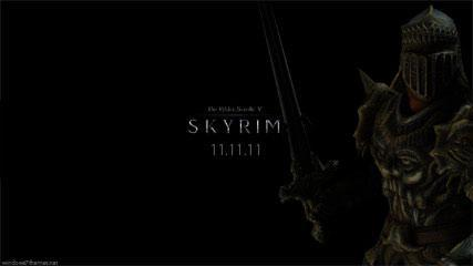 Elder Scrolls 5 Skyrim Wallpaper + Windows 7 Theme