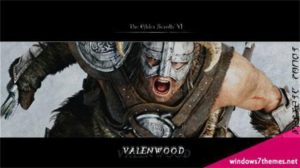 The Elder Scrolls 6: Valenwood Wallpaper Theme for Windows 7