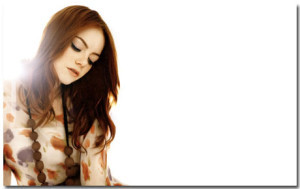 Emma Stone Wallpaper Theme With 10 Backgrounds