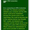 Error Connecting To Vpn Connection Error 809 100x100 Png