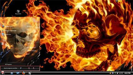 5 Cool Evil Windows 7 Themes With Badass Skulls