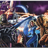 Comic Book Heroes: Fantastic Four Theme With 10 Backgrounds