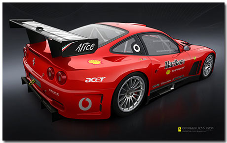 Ferrari 550 Theme With 10 Backgrounds