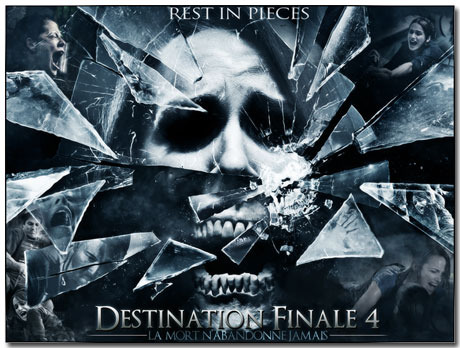 Final Destination Theme With 10 Backgrounds